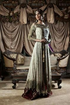 White, Gold, Anarkali