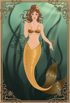 Mermaid Belle by ~PinkPetalEntrance on deviantART