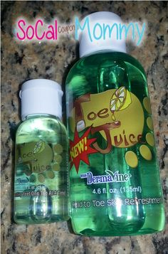 ENTER TO WIN!  Toe Juice Prize Pack!  MUST HAVE PRODUCT!
