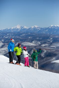 A new adventure for young and old, spectacular views are on offer on the very top of the mountain, where the rugged alpine ranges of Hokkaido expand beyond the horizon.