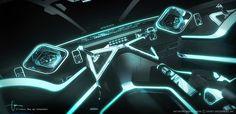 Tron Legacy Light Jet Cockpit | danielsimon