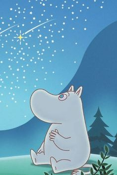 Can you help us solve the Great Moomin Mystery? We can't find the creator of our… Cartoon Wallpaper, Moomin Wallpaper, Iphone Wallpaper, Moomin Valley, Tove Jansson, Film D'animation, Cute Characters, Anime, Ghibli