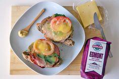 Mainland Cheese Recipe – Roast Beef and Egmont Cheese Melt Open Sandwich http://danielfooddiary.com/2014/08/07/mainlandcheese/