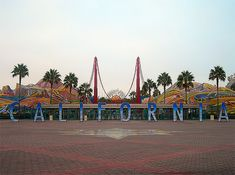 California Adventure, Disneyland, Anaheim, California. Home sweet home!