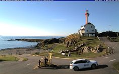 Nova Scotia Webcams went to check out Cape Forchu Lighthouse on October 6th, 2014!  http://www.novascotiawebcams.com/en/webcams/cape-forchu/