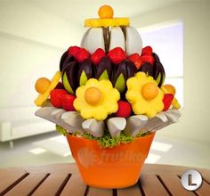 Delicious flower sweet surprise will make happy all lucky reciever http://www.frutiko.cz/en/sweet-surprise