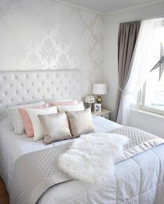 Portfolio Home Shimmer White Duvet Cover and Pillowcase Set Super King Duvet Covers, King Duvet Cover Sets, Double Duvet Covers, White Duvet Covers, Duvet Cover Sizes, Duvet Sets, Bed Linen Sets, My New Room, Luxury Bedding