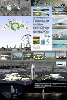 [A3N] : Water Village in Sharjah Competition 2012 ( Honorable Mention 07 : ) / Keiji Ishibashi , Gerado Esteche , Pedro Taboada , Mauricio Amarilla , Derlis Flores (Paraguay , Argentina )