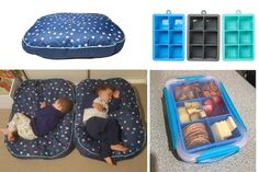 Got kids? These are the clever Kmart hacks you need in your life - from ice cube trays that become lunch boxes to dog beds repurposed into toddler chairs.
