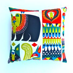 Bear, Lion and Squirrel Cushion Cover