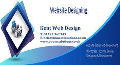 Web Design Kent  Boom Solutions – We're a small design agency that specialise in helping businesses get he most out of the internet. Wether you are looking for a new website, a full rebrand or to work out a full digital marketing strategy we can help. Working with small and medium businesses we are able to use our years of experience to help you achieve great results online.