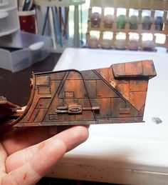 """I call her the """"rust bucket"""" - 1/270th scale for X-Wing TMG"""