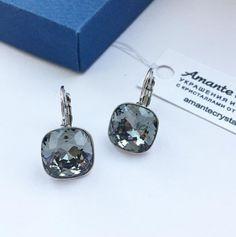 🌺 Девочки, у нас в магазине новая поставка - Серьги Ивонн в цвете black diamond, 12mm 2999₽ ждут вас!!! 😍 😘  Мы осуществляем доставку по всей России и СНГ Оформите заказ за 5 мин в сообщения, WatsApp/Viber +79034784191 или на сайте amantecrystal.com Доставка почтой 5-6 дней! Приятных покупок!💎 #amantecrystal #swarovski #сваровски