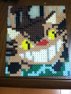 Catbus perler beads by mi ☆ wa