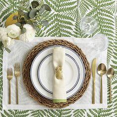 Pineapple Napkin Rings - Set of 4