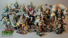 Action figures of Japanese gods - Revoltek Takeya Collection