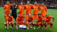 Netherlands Team Picture FIFA World Cup Brazil 2014