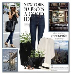 """""""New York is always a good idea!!"""" by lilly-2711 ❤ liked on Polyvore featuring Diane James, H&M, Proenza Schouler, Oasis, rag & bone, Joolz by Martha Calvo and Valentino"""