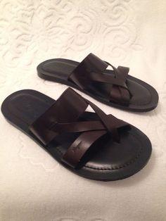 0f16d615211371 Salvatore Ferragamo Caffe Men s Sandal Size 9-tg1132-01  SalvatoreFerragamo   LoafersSlipOns