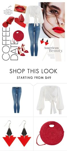 """""""Coffe Date"""" by vuzetka on Polyvore featuring Zimmermann, Toolally, MANGO and Steve Madden"""