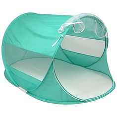 The Beach Baby Pop-Up Shade Super Dome is perfect for protecting your child from the sun by creating instant shade anywhere. Mesh rear window and a wide open front ensure good air flow. Folds flat and comes with its own case for easy carrying and storage.