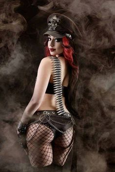 Dani Divine Wicked Lester Clothing By Dollhouse Photography Goth Beauty, Dark Beauty, Steampunk Couture, Gothic Steampunk, Gothic Art, Hot Goth Girls, Goth Women, Alternative Girls, Gothic Fashion