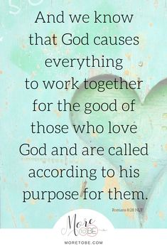 God, please help us to see this truth and also speak it with discernment to others.