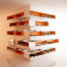 storage system for Swedish furniture manufacturer Edsbyn... by Thomas Eriksson Arkitekter