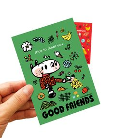 #illust #illustrator #zeo #crayonghouse #goodfriends #postcard #굿프렌즈 #일러스트 #그림엽서 #그림
