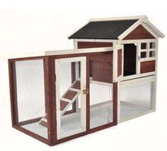 Jaula Casa Conejo Hamster Casa Hutch Animal Mascota hábitat Exterior Interior Spot Nuevos in Productos para mascotas, Animales pequeños, Jaulas y encierros | eBay