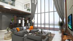 Living Room Residential - Tierbonavi Visit : www.tierbonavi.id