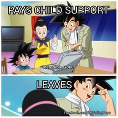 4c217f0039970e14a1695b145094f3c5 child support school lunch you guys, vegeta is a tsundere a tsundere is someone who's cold and