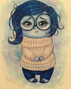 Sadness 💙! By @kayla_colorful_world . Follow us 👉 @artistic_unity_ 🔥 . Shared by @art_by_fabian . Tag your friends 👇👇 . . #drawing #draw #sketch #art #artist #arte #artoftheday #artistic #artsy #illustration #photooftheday #painting #vsco #instaart #art_spotlight #worldofpencils #instalike #talnts #talented #masterpiece #beautiful #talent #draw #creative #vscocam #sketching #dibujo #instadraw #arts_gallery #amazing