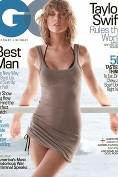 Taylor Swift wearing  James Perse Long Skinny Tank