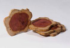 Tri-Lox's Cedar Coasters #coasters #cedar #wood #handmade #usa #gift #holidays