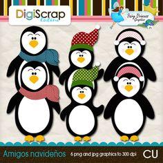 Penguins Penguins, Clip Art, Graphics, Graphic Design, Penguin
