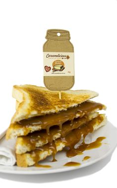 Caramelicious artisan French caramel producer in Victoria handmade in small batches and slow simmered to create salted butter caramels. Salted Butter, Food Service, Spreads, Waffles, Toast, Artisan, Breakfast, Morning Coffee, Waffle