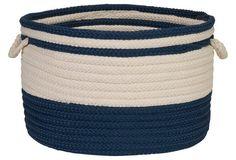 Bar Harbour Basket, Navy