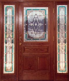 stained glass entry doors - Google Search