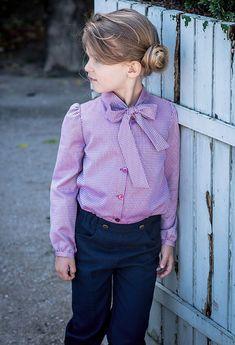 Os presento a Petite Bergamote moda elegante para niñas. Marca de Paris con ropa para niñas hasta los 8 años, elegancia y exclusividad.