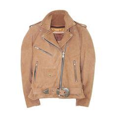 Chick jacket- Understated Leather Western Dusty Leather Jacket