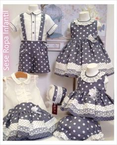 Image gallery – Page 489414684496069552 – Artofit Little Girl Outfits, Little Girl Dresses, Kids Outfits, Baby Girl Dresses, Baby Dress, Fashion Kids, Baby Kostüm, Frocks For Girls, Girl Dress Patterns