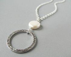 b9feb47cfa6 Items similar to Pearl Eyeglass Lanyard - Eyeglass Necklace - Beaded Glasses  Holder - Eye Glasses Lanyard - Silver Chain Lanyard - Pearl Glasses Lanyard  on ...