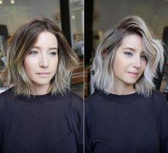 hair_style_trends on Poshinsta Ombre Hair, Balayage Hair, Honey Balayage, Hair Day, New Hair, Short Hair Cuts, Short Hair Styles, Fun Hair Cuts, Brown Blonde Hair