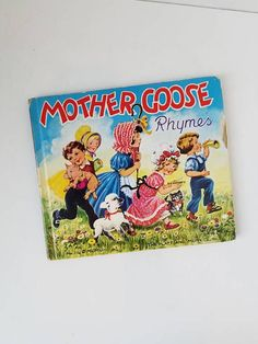 Check out this item in my Etsy shop https://www.etsy.com/listing/539860594/mother-goose-rhymes-vintage-childrens