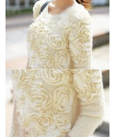 Styleonme_No. 33920 #floral #knitwear