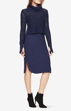 Dominick Turtleneck Sweater Dress