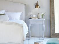 We have a super range of bedside tables. From French style, solid oak, gorgeous painted ones and metal bedside cabinets. French Bedside Tables, Wooden Bedside Table, Cotswold House, Bedside Wall Lights, Painted Side Tables, Comfy Sofa, Bedside Cabinet, Master Bedroom, Furniture