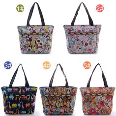 Fashion Lady Floral Forest Lesports Nature Style Women Handbag Shoulder Bag Tote #Generic #ShoulderBag