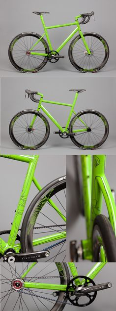 Project: RIGHT. A single-sided, single-speed belt-driven road bike by English Cycles